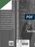 Fiorin e Platão - Para Entender o Texto