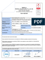 Test Report - Transformador de Corrriente - SIGMA S20