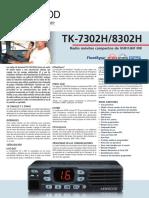 User Guide kenwood tk7302