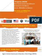 Grow Project - Presentation Oficial Tacna 30 y 31 Mayo