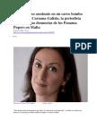 BBC MUNDO - El Asesinato en Carro Bomba de Daphne Caruana, La Periodista Que Lideró Las Denuncias de Los Panama Papers en Malta