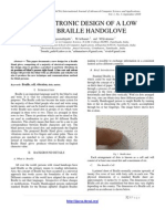 ELECTRONIC DESIGN OF A LOW COST BRAILLE HANDGLOVE