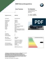 PDF Expose BMW 640i XDrive Gran Turismo 8400158 de De