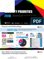 2018 IDG Security Priorities Survey