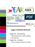 Speak Asia Company Presentation