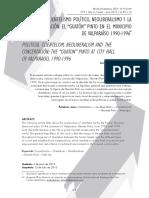 05 Clientelismo Politico Neoliberalismo y La Concertacion