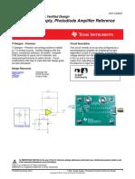 Transimpedance Amplifier TI