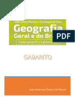 Geografia Geral e Do Brasil - GABARITO