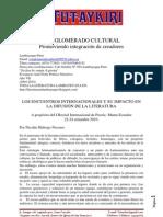 Chiclayo. Promoviendo integración de creadores