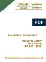 MANUAL DE CALIDAD ´´PANADERIA DIVINO NIÑO``.doc