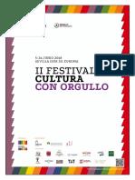 Dossier II Festival Cultura Con Orgullo 2018