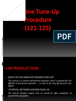 Engine Tune Up Procedure