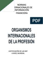 NIIF y Organismos