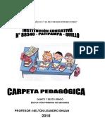 Carpeta Pedagógica-2018