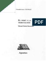 El Peru y La Tributacion