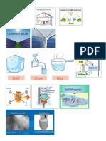 Fusion, Evaporacion, Sublimacion, Estado Solido Liquido Gaseoso, Energia Hidraulica, Solar, Biomasa