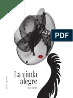 Teatro Colón - Programa de mano «La Viuda Alegre» (2018)
