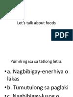 3 foods