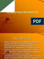Resusitasi Neonatus Melania