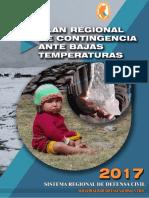 Plan Regional de Contingencia Ante Bajas Temperaturas 2017 Puno