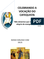 Celebrando a Vocação do Catequista