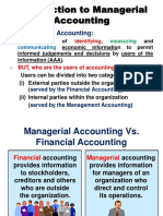 1_ Introduction to Management and Cost Accounting