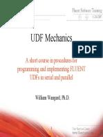 UDF Mechanics