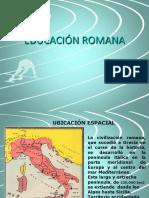 Educación Romana