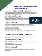 AVD. Parkinson