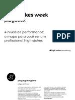High Stakes Week Playbook 4niveis