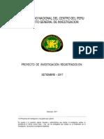 PROYECTOS DE INVESTIGACIÓN-SEPTIEMBRE 2017 - FIEE - UNCP