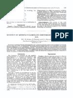 Kinetics of Methylcyclohexane Dehydrogenation Over Pta1203