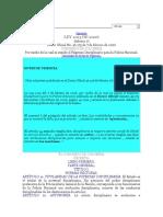 Ley 1015 de 2006