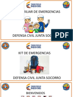 Kit Familiar de Emergencias