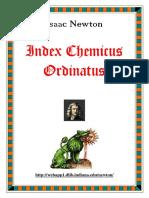 Newton - Index Chemicus