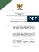 PMK No. 33 Th 2018 Ttg Penugasan Khusus NAKES Mendukung Program Nusantara Sehat
