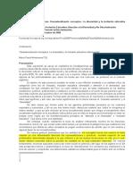 Montesinos- Desnaturalización de conceptos