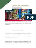 Breve muestra de poesía china contemporánea.doc