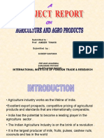 Agriculture industry of india in brief till 2007