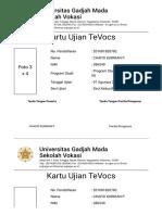 Test of English for Vocational Student _ Sekolah Vokasi Universitas Gadjah Mada