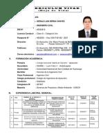 c.v. Gerald Jan Serna Chávez