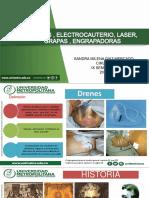 drenes, suturas mecanicas, laser, grapas.pptx