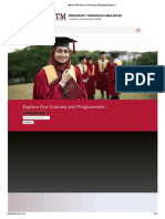 Official Web Portal of Universiti Teknologi Malaysia