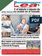 Periódico Lea Jueves 09 de Agosto Del 2018