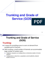 Cellular Lecture4 Trunking and Grade of Service