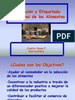 Rotulacion y etiquetacion nutricional de los alimentos.ppt
