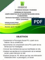 Presentación Genealogía Agosto SEMINARIOS PSC