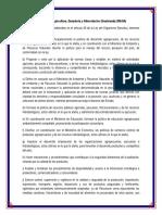 Resumen Personal de Los Ministerios de Guatemala