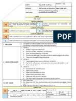 lesson plan year 2 cefr