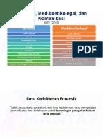 PESERTA Forensik Bioetik Komunikasi
